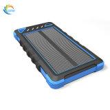 Le côté portatif imperméable à l'eau 8000mAh d'énergie solaire conjuguent des ports USB