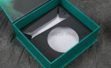 Logo de couleur verte de l'impression fantaisie des boîtes en carton de papier personnalisé