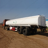 2 essieu 50tonne de carburant/Pétrolier Semi-Trailer
