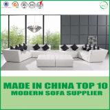 白い現代椅子の余暇の本革のソファーのホーム家具