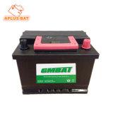 Черный корпус Mf свинцово-кислотного аккумулятора автомобиля DIN 55531 хранения55Ah