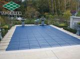 vorm de Beroemde Merk Ontworpen Donkerblauwe of Groene Dekking van de Pool van de Veiligheid van het Netwerk voor Zwembad 40X20 en de Pool van het KUUROORD in Laagste Prijs