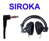 OEM con conexión de cable del auricular del auricular estéreo para la reproducción