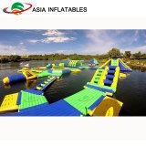 Het grote Park van het Water van de Pret Reuze Opblaasbare, Opblaasbaar Park Aqua voor Jonge geitjes en Volwassenen