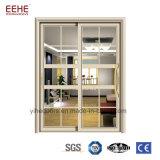 Алюминиевые двери для External оценивают алюминиевый сплав сползая дверь патио