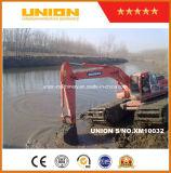 Buon prezzo per l'escavatore anfibio di Doosan Dh215-7 con il pontone del telaio