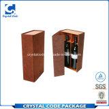 Boîte de papier à vin de logo d'impression de Cusomized Cmyk
