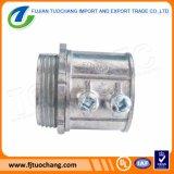 Le zinc le type galvanisé connecteur de vis de réglage de moulage mécanique sous pression d'EMT