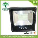 セリウムのRoHS LEDの軽い屋外のフラッドライト100W LEDの洪水ライト
