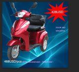 a-Ok untaugliches elektrisches Dreirad für alte Leute mit vorderer Scheibenbremse und hinterem Kasten