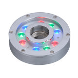 9X3w IP68 farbenreiches Unterwasserbrunnen-Licht der Änderungs-LED