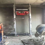 Het Mengen zich van de bouw Concrete het Pleisteren van de Muur van de Installatie Machine