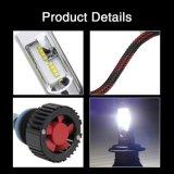 40W 8000lm 6500K impermeabilizzano le lampadine dell'automobile del faro H7 del ventilatore