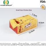 Rectángulo frito papel de encargo de gran tamaño del pollo que quita