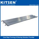 Seguridad probada de tablones de aluminio andamios pasarela