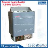 calentador eléctrico de la sauna 4.5kw para el BALNEARIO seco de la sauna del vapor