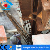 現実的な速い20の床を組立て式に作った鉄骨構造の木造家屋をインストールする