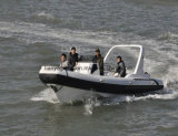 Liya 7,5 m nervure à Grande Vitesse bateau bateau gonflable rigide de la Garde côtière