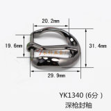 La boucle de courroie en alliage de zinc de Pin de boucle de harnais en métal chaud de vente pour le vêtement chausse les sacs à main (YK1334, 1340, 1367)