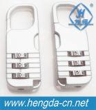 Yh1073 3 chiffres Nombre de couleurs cadenas à combinaison porte-documents