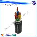 Individu blindées/isolation XLPE/gainé PVC/instrument/Câble blindé