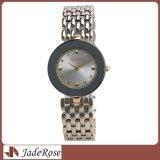 Reloj ocasional del cuarzo de las señoras de la manera simple, señora reloj del acero inoxidable