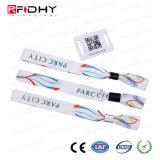 Изготовленный на заказ полоса сплетенная печатание с биркой RFID малой
