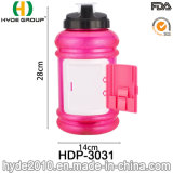 Настраиваемые 2.2L BPA Бесплатные пластиковые спорта бутылка воды (ПВР-3031)
