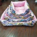 Form-blaues Haustier-Kissen, warme Haustier-Bett-Produkte