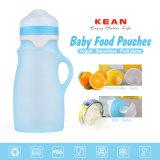 Nova chegada Non-Toxic silicone macia bolsa alimentação do bebé