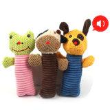 Jouet grinçant animal d'animal familier de jouet de Doy de produits d'animal familier de Lovey