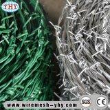 フィールド塀のための卸売によって電流を通されるトゲの鉄条網
