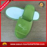 Персонализированные тапочки гостиницы пользы Раскрывать-Пальца ноги одного для авиакомпании