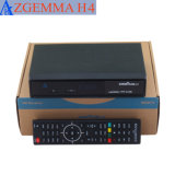 De drievoudige Decoder van kabeltelevisie van DVB C Met Beeld in Beeld Zgemma H4