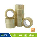 BOPP Película de embalaje rollo de cinta marrón / amarillo adhesivo acrílico