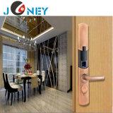 Las huellas dactilares y una contraseña de huellas dactilares eléctrico digital inteligente de bloqueo de puertas manija