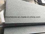 China flameados/Sandblast/Impala antideslizamiento granito gris para los azulejos de estacionamiento