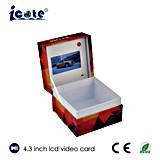 El cliente superventas posee la carga por teletratamiento video y la insignia que imprimen el vídeo del asunto que empaqueta para hacer publicidad