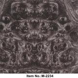 Film de plongement hydraulique de Tcs à vendre le No. en bois de configuration de noix de largeur 100 cm : M-2234