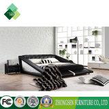 O quarto contemporâneo do melhor estilo moderno barato da qualidade de jogos da mobília do hotel usou o couro preto e branco