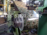 Гальванизированные стальные Prepainted лист рулон/шаблон из дерева цвета стали/катушки PPGI