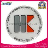 Personalizar a placa de identificação magnética da forma redonda com logotipo da companhia