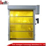 Automatische industrielle Hochgeschwindigkeitsgewebe-Tür, schnelle Blendenverschluss-Geschwindigkeits-Tür