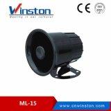 Мл-15 6 звуковой сигнал тревоги автомобиля 15W 110 ДБ DC12V 24V