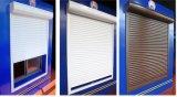 Finestra di alluminio e portello, finestra di alluminio della feritoia, otturatore di vetro di alluminio della finestra della feritoia