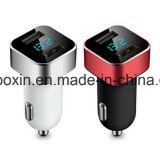 автомобильное зарядное устройство со светодиодной подсветкой Напряжение и ток для Apple iPhone и iPad, Samsung Galaxy /S