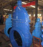 Grosses Größe Dutile Eisen-Gummisitzabsperrschieber mit Pn10 Pn16
