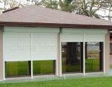 Puertas de alta velocidad de la persiana enrrollable del metal lujoso