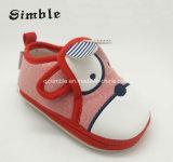Precioso Lienzo de dibujos animados para niños botas zapatos de bebé suave