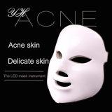 Nova chegada 7 Cores Máscara de terapia de luz LED